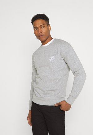 ARTHUR - Sweatshirt - grey marl/optic white