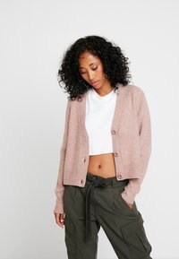 Forever New - THEA BUTTON CARDIGAN - Cardigan - mauve day - 3