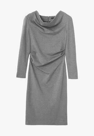 Cocktail dress / Party dress - grey melange