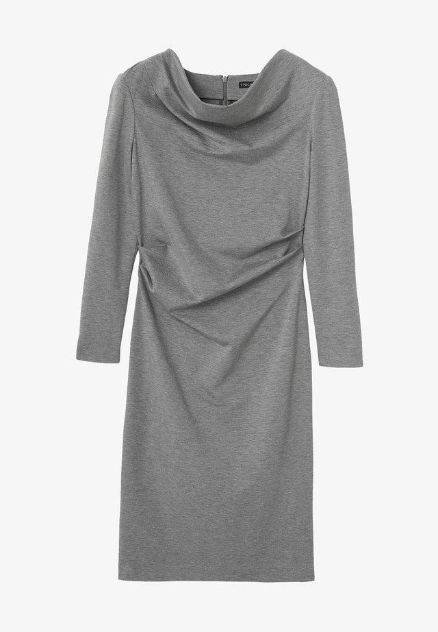 Cocktail dress / Party dress - grey melange