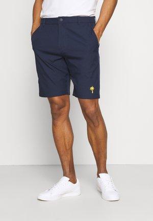 PALM TREE CREW MONEY BAG SHORT - Sportovní kraťasy - navy blazer