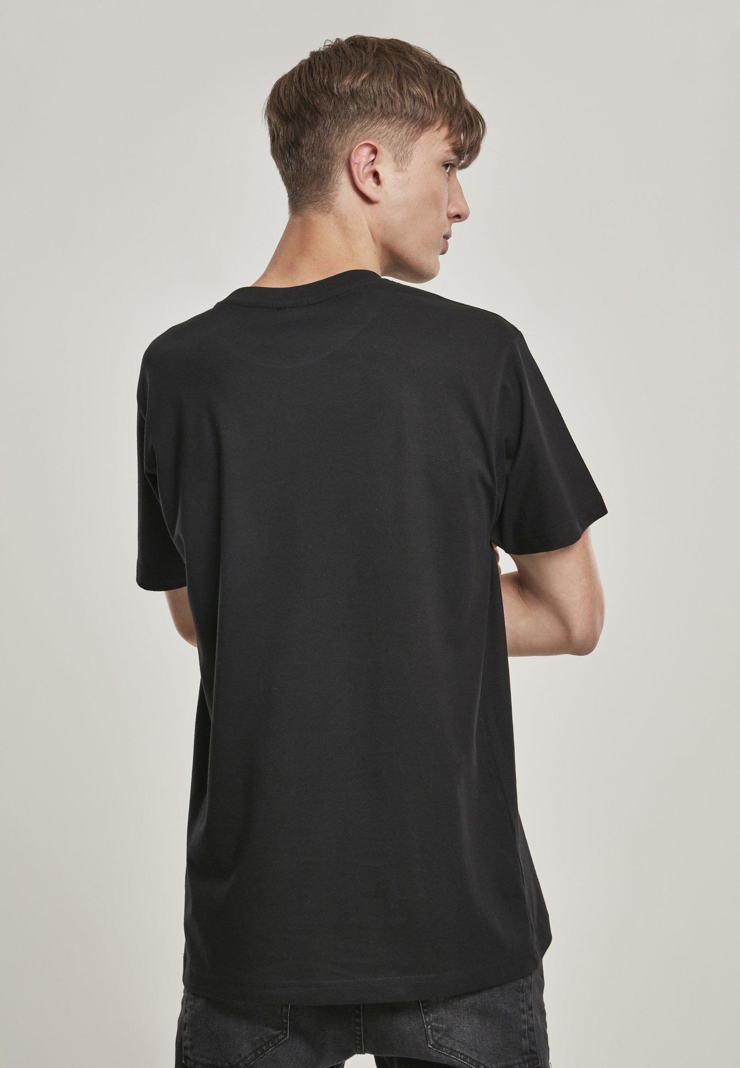 Mister Tee HIGH ON LIFE TEE - Print T-shirt - black wcLiZ
