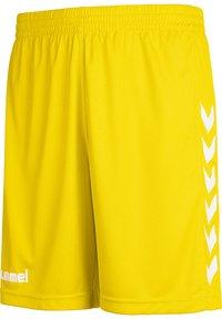 Hummel - Sports shorts - sports yellow pr - 2