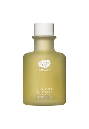 ORGANIC FLOWERS TONER REFRESH  - Lotion visage - -