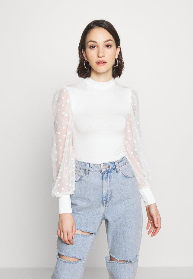 SPOT - T-shirt à manches longues - off white