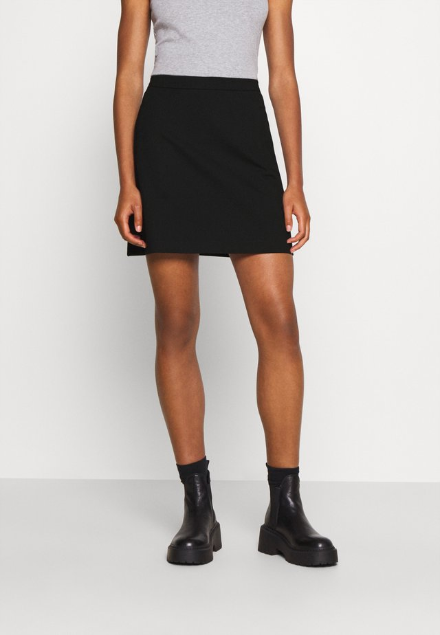 TANNY SHORT SKIRT - Mini skirts  - black