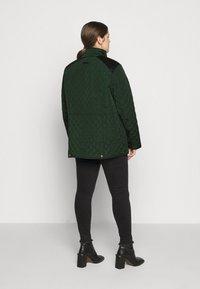 Lauren Ralph Lauren Woman - CREST QUILTED JACKET - Light jacket - hunter green - 2