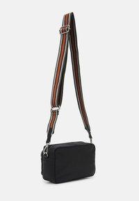 Becksöndergaard - SHEEN MALLY BAG - Across body bag - black - 1