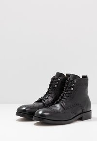 Hudson London - SHERWOOD - Lace-up ankle boots - black - 2