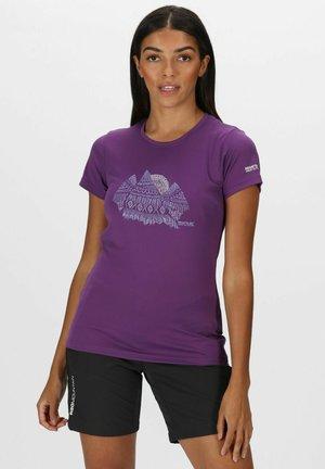 FINGAL WANDER - Sports shirt - plum jam
