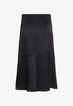 SKIRT - A-line skirt - pure black
