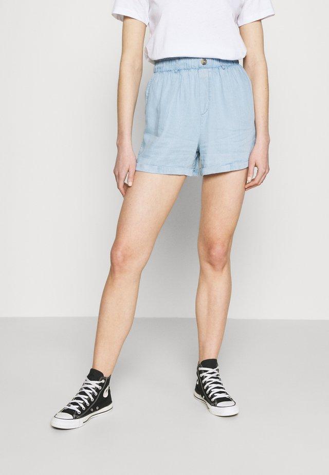 Shorts - light blue denim
