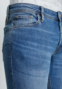 Jack & Jones - JJIGLENN JJORIGINAL - Jeansy Slim Fit - blue denim - 3