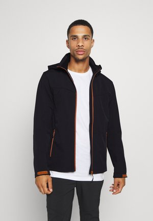 BIGGS - Soft shell jacket - dark blue