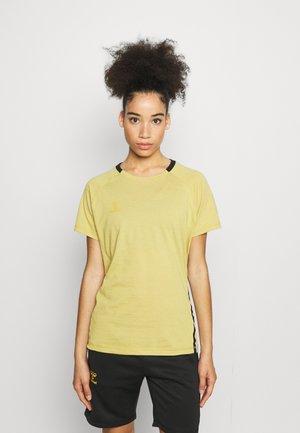 CIMA XK WOMAN - Camiseta estampada - antique gold