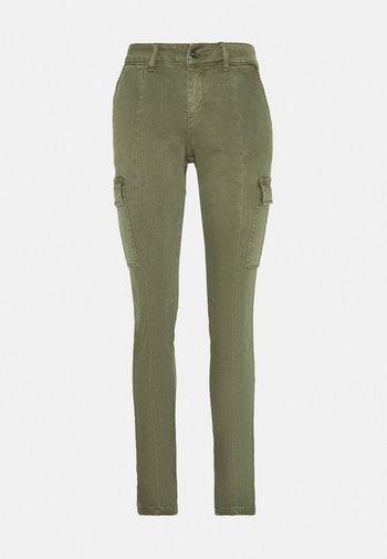 Trousers - olivine