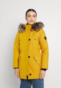 ONLY - ONLIRIS  - Zimní kabát - tawny olive - 0