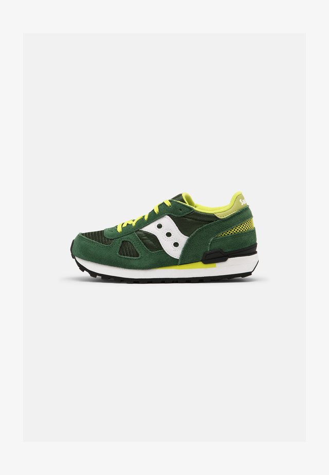 SHADOW ORIGINAL UNISEX - Sneakers laag - green/white