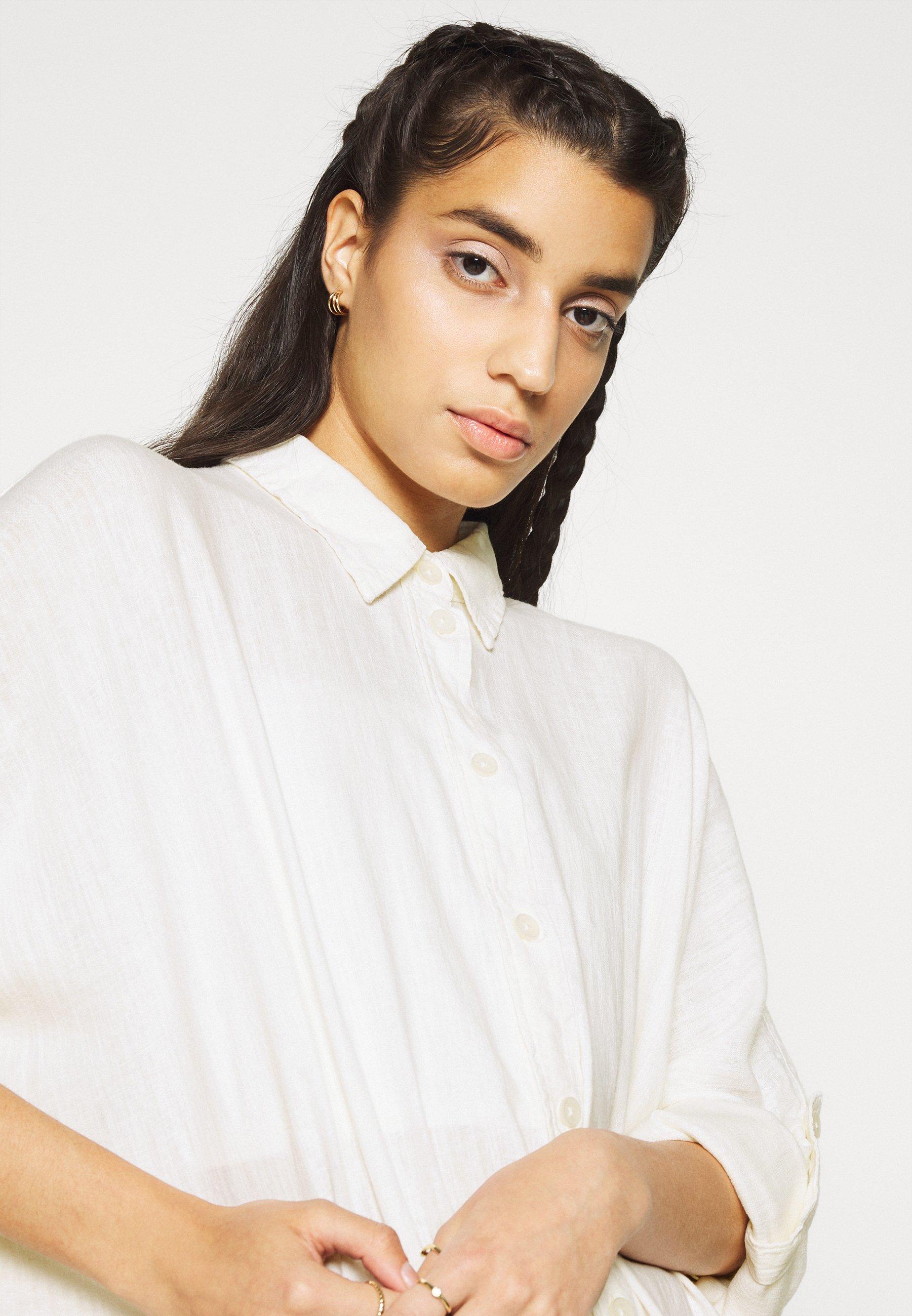 Donna CORE OVERSIZED TAB SOLID - Camicia