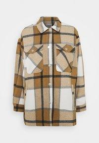 ONLELLENE VALDA CHACKET - Summer jacket - bone brown/black
