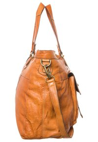 Pieces - TOTALLY ROYAL  - Weekend bag - cognac - 3