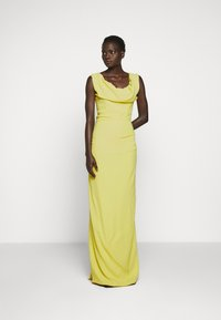Vivienne Westwood - LONG GINNIE DRESS - Suknia balowa - yellow - 1