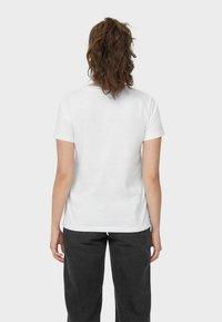 Stradivarius - T-shirt con stampa - white - 2