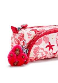 Kipling - CUTE - Pencil case - pink leaves - 4
