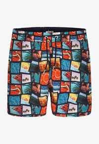 Happy Shorts - Swimming shorts - photo collage - 0