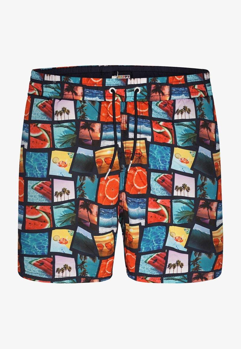 Happy Shorts - Swimming shorts - photo collage