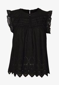 ONLY - ONLSABRYNA LYRIC TOP - Bluse - black - 0