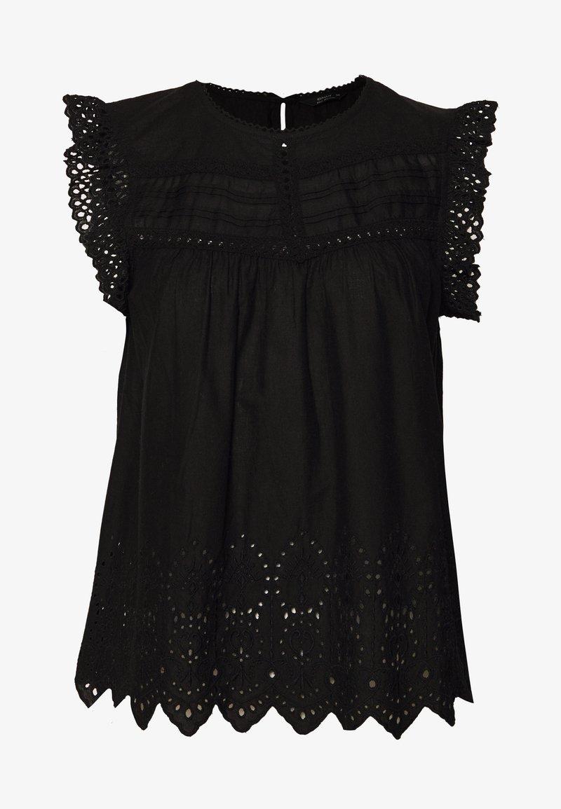 ONLY - ONLSABRYNA LYRIC TOP - Bluse - black