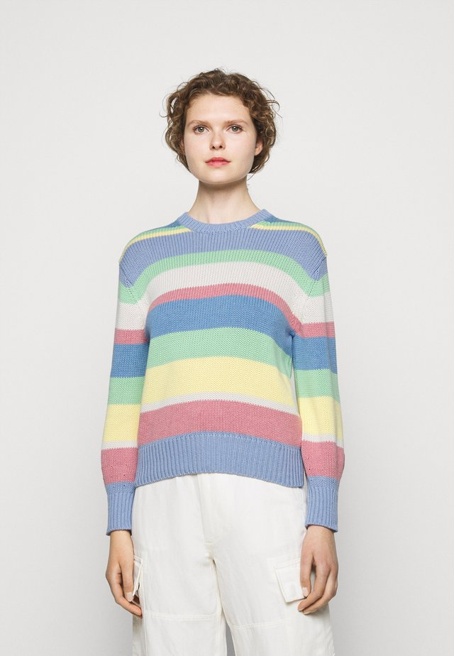 Jersey de punto - multi-coloured