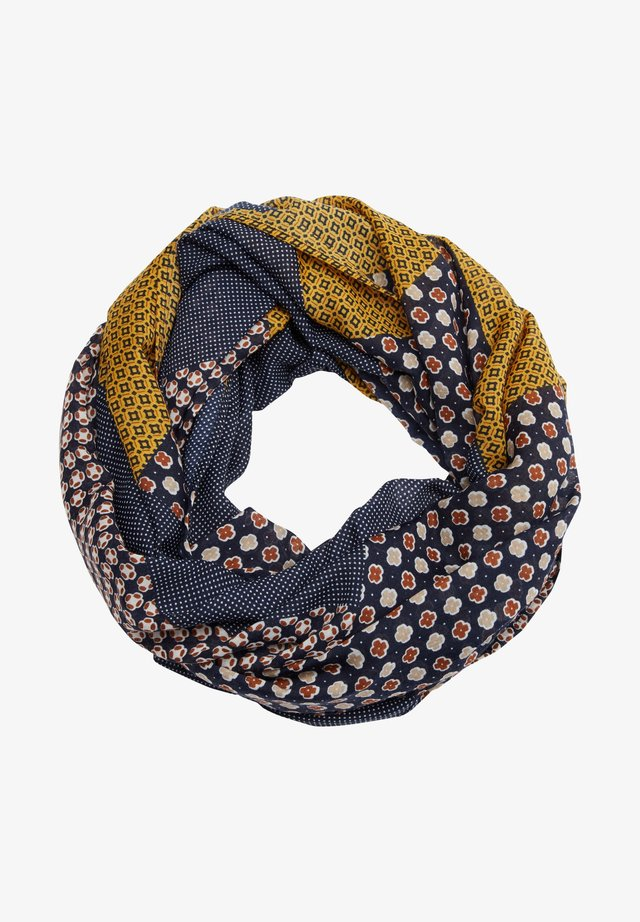 Snood - dark blue aop