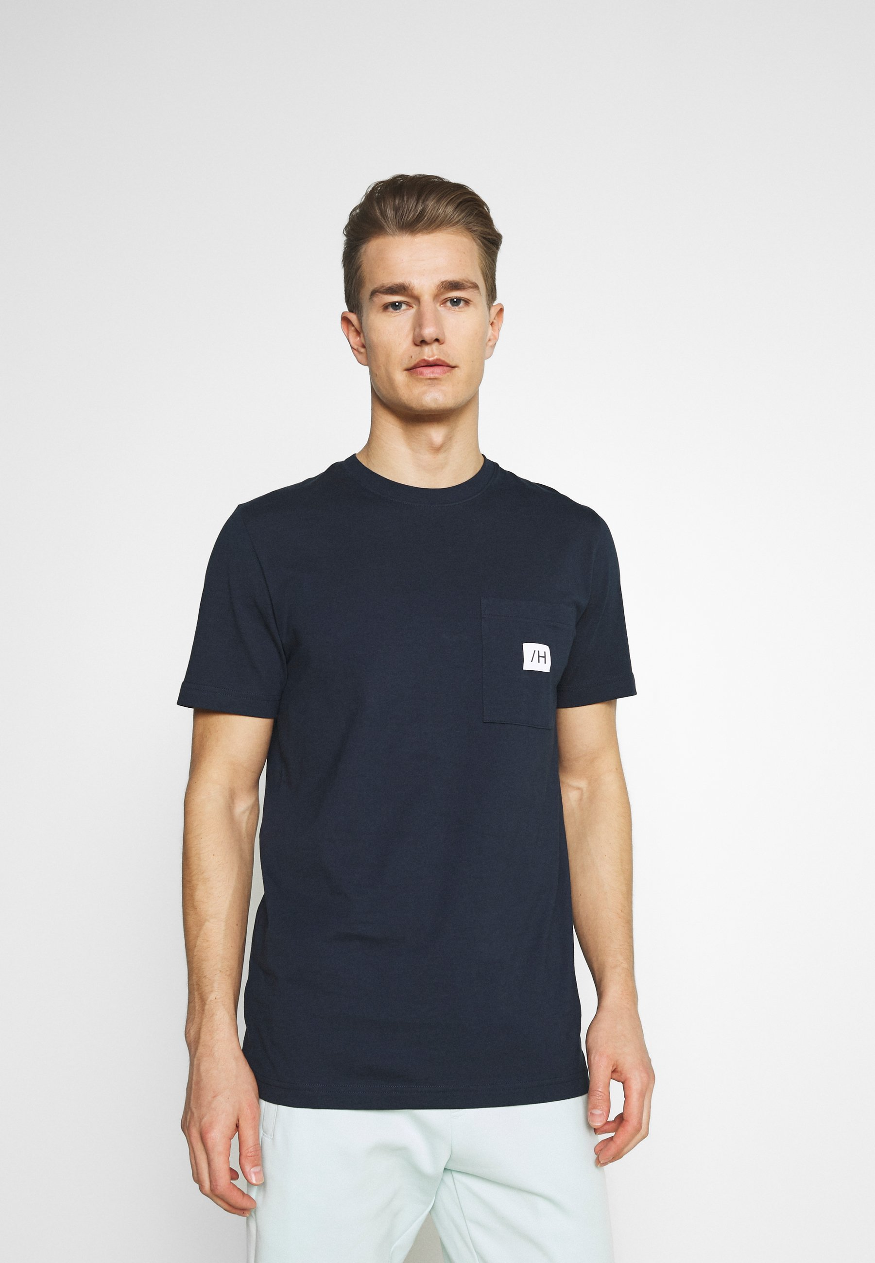 Men SLHENZO POCKET O NECK TEE - Basic T-shirt