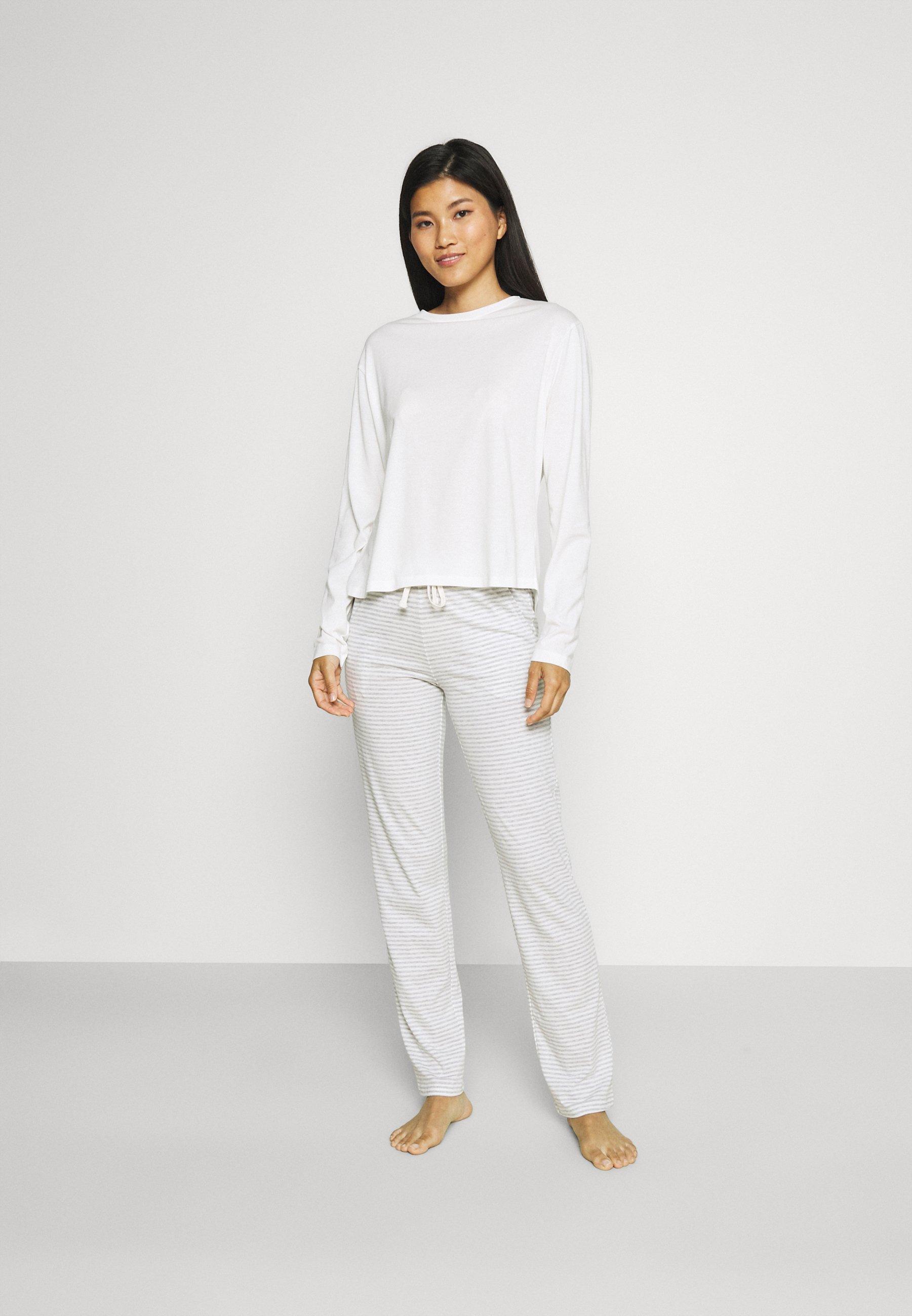 Damen LOUNGE CREW NECK - Pyjama