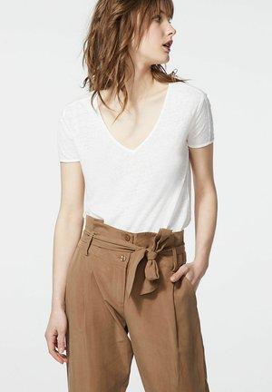 Print T-shirt - blanc cassé