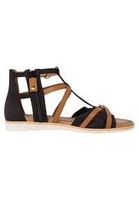 Tamaris - Wedge sandals - black nut - 4