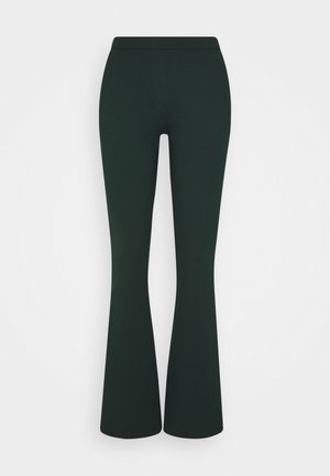 TANNY FLARE PANTS - Trousers - empire green