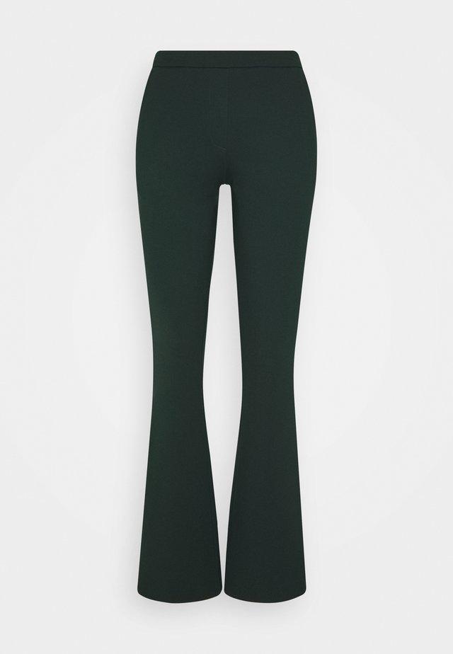 TANNY FLARE PANTS - Pantaloni - empire green