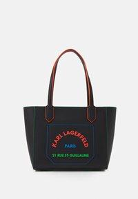 KARL LAGERFELD - JOURNEY EDGE TOTE - Handbag - black - 1