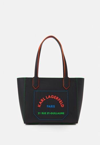 JOURNEY EDGE TOTE - Handbag - black