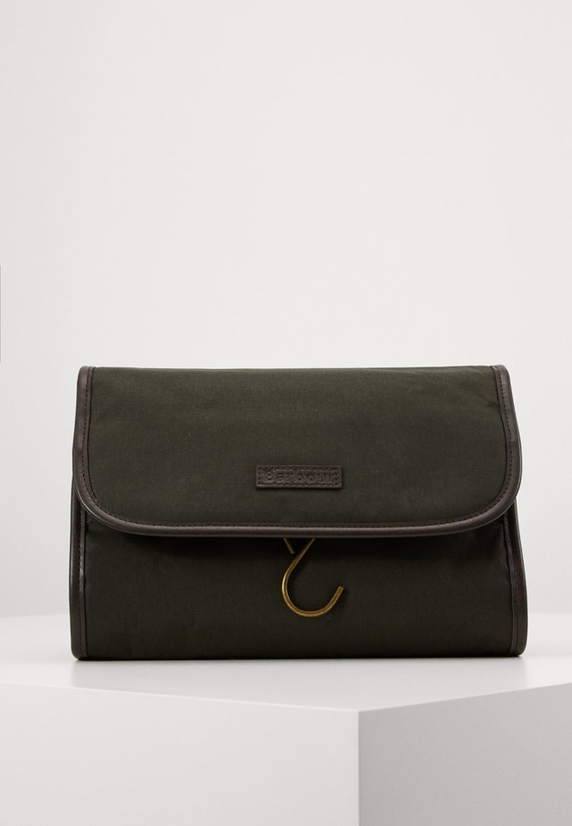 HANGING WASHBAG - Trousse de toilette - olive