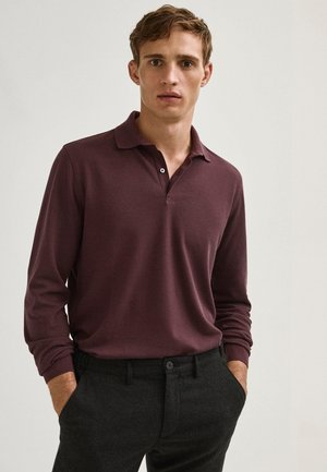 Polo shirt - dark purple