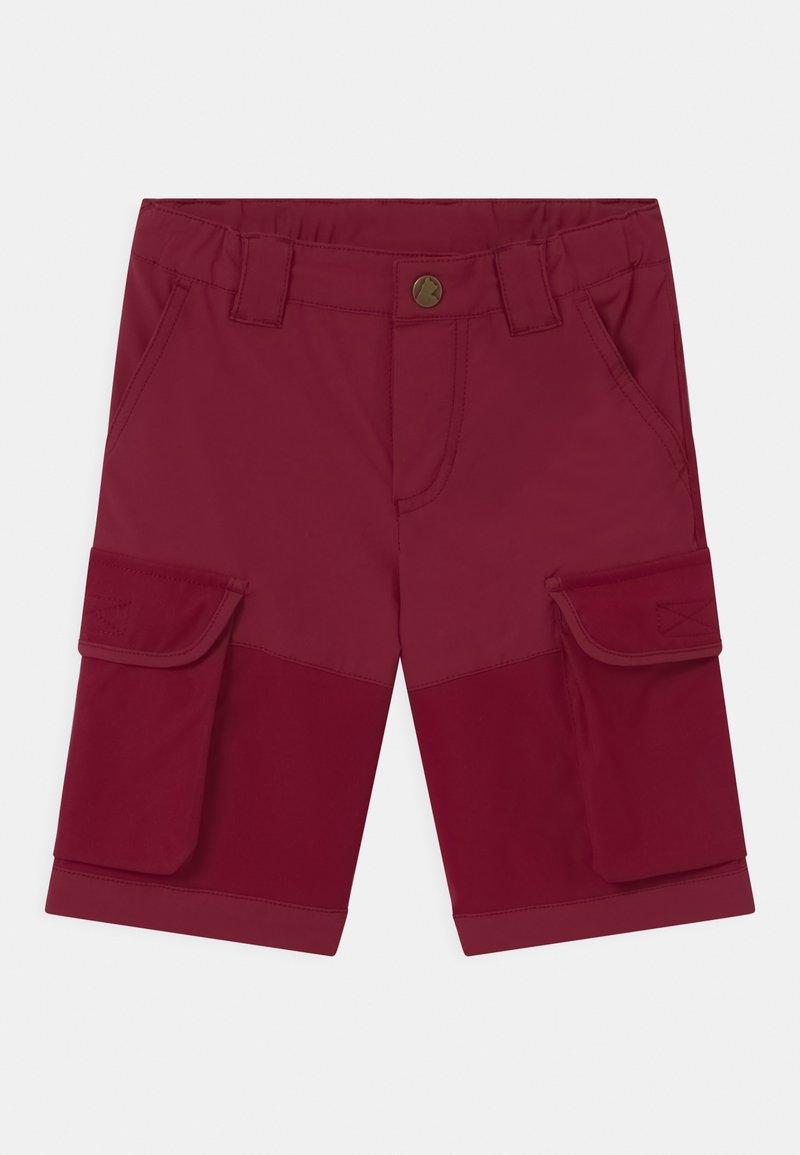 Finkid - ORAVA UNISEX - Outdoorové kraťasy - beet red