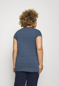 Ragwear Plus - DIONE - T-shirt imprimé - indigo - 2