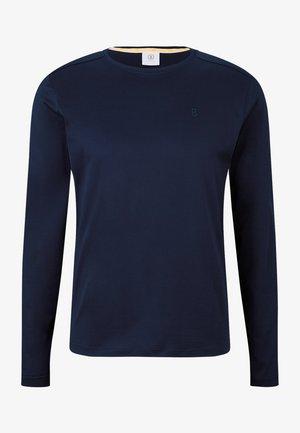 Longsleeve - navy-blau