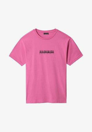 S-BOX   - Print T-shirt - pink super