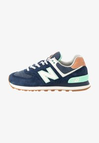 New Balance - WL574 - Sneakers - navy - 1