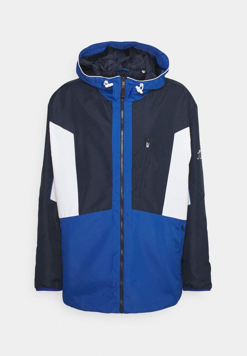 Jack & Jones - JCOCARSON LIGHT JACKET HOOD - Summer jacket - navy blazer